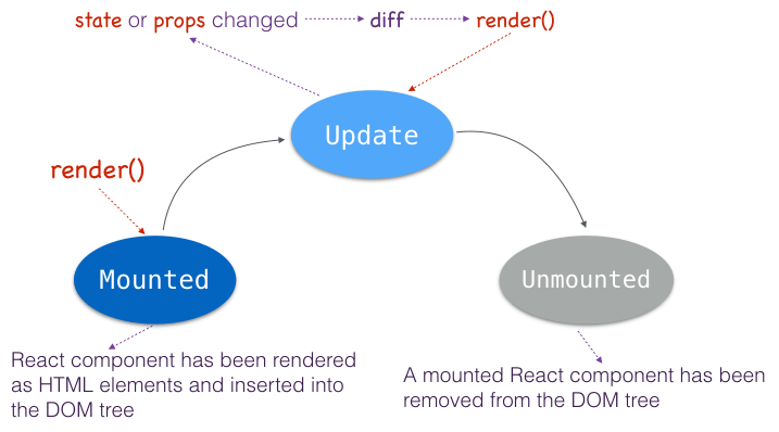 React js Tutorial: React Component Lifecycle | CodeVoila
